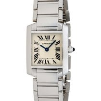 Cartier Tank Francaise 18K White Gold Watch – W50012S3