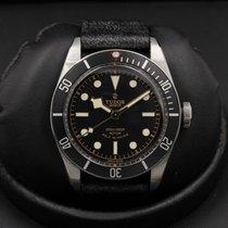 Tudor Heritage - Black Bay - Black Bezel - Leather Strap -...