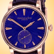 Arnold & Son HMS1 Royal Blue 18K Rose Gold Manual Wind...