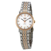 Longines Elegant Automatic White Dial Ladies Watch L4.309.5.12.7