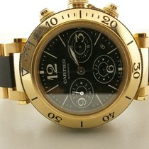 Cartier Pasha Seatimer W301970m 42mm 18k Chronograph43875.00...