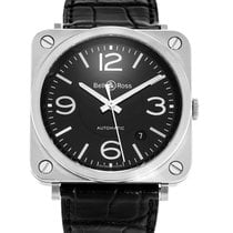 Bell & Ross Watch Aviation BRS92-BL-ST