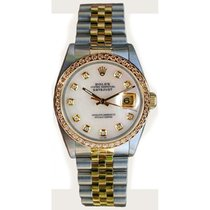 Rolex Datejust Midsize Perfect Condition Model 68273 Steel and...