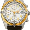 Breitling Windrider Chronomat Steel And 18k Yellow Gold...