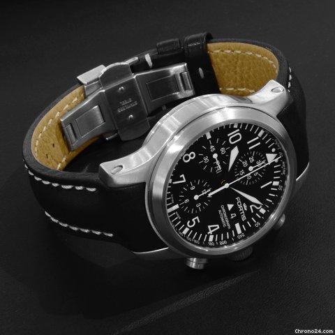 Часы Fortis B 42 Flieger Chronograph /швейцарские новые