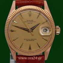 ロレックス (Rolex) Oyster Perpetual Date 6627 Medium 18k RedGold