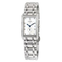 Longines Dolce Vita White Mother of Pearl Dial Stainless Steel...