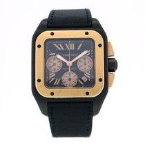Cartier Santos 100 Chronograph Black Titanium Automatic...