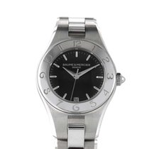 Baume & Mercier Ladies Stainless Steel Quartz Watch MOA10010