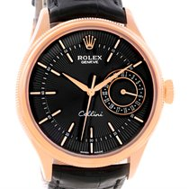 Rolex Cellini Date 18k Rose Gold Everose Watch 50515 Box Papers