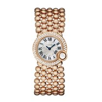 Cartier Ballon Blanc Quartz Ladies Watch Ref WE902057