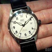 IWC IW327002 Silver Dial Pilot's Watch Mark XVIII 40mm