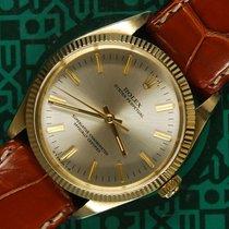 Rolex Oyster 1005 14K yellow gold plexi 1974
