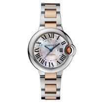 Cartier Ballon Bleu 33 mm Automatic No Date Ladies watch W6920098