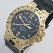 Bulgari Diagono Scuba 18k Gold