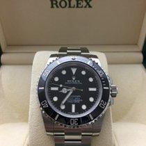 Rolex NEW Submariner Black Ceramic Bezel 114060