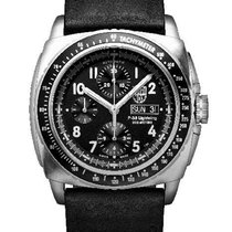 Luminox Mens P-38 Lightning Automatic Chronograph - Black...