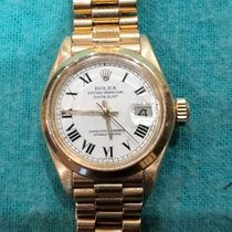 Rolex Oyster Perpetual Datejust – 18 kt gold – Women's...