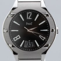 Piaget Polo Date, Automatic, 18K White Gold, 43mm Men's...