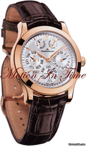 Jaeger-LeCoultre MASTER EIGHT DAYS PERPETUAL ROSE GOLD w/ SKELETON BACK