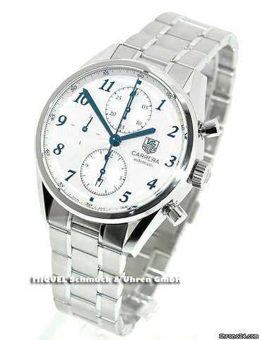 TAG Heuer Carrera Heritage Chronograph (ungetragen)