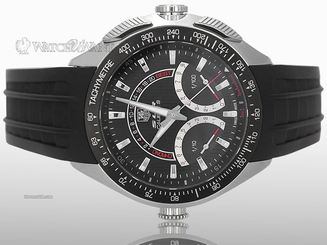 TAG Heuer Mercedes-Benz SLR Calibre S Laptimer Chronograph - 47mm Stainless Steel - Limited Edition 3500 Pieces - REF CAG7010.FT6013 - Brand New In Box