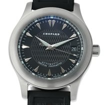 Chopard L.U.C. Sport 2000 Stainless Steel 40mm Black Dial Ref....