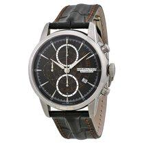 Hamilton Mens H406567 American  Black Dial Chronograph Watch
