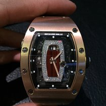 Richard Mille [NEW] RM 037 Rose Gold Ladies Automatic With...