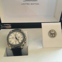 Omega Speedmaster Apollo 13 Silver Snoopy Award 45th A. New