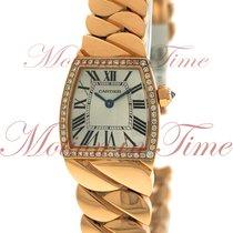 Cartier La Dona Small Ladies, Silver Dial, Diamond Bezel -...