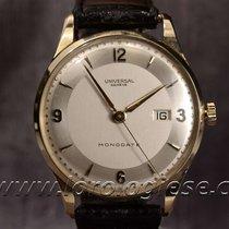 Universal Monodate Vintage 1951 18kt. Gold Ref. 11315 Watch-...