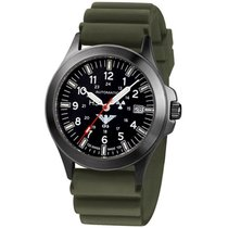 KHS Uhren Herrenuhr Black Platoon Titan Automatik KHS.BPTA.DO