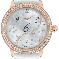 Blancpain Ladies Off Centered Hour Retrograde Seconds 3650a-37...
