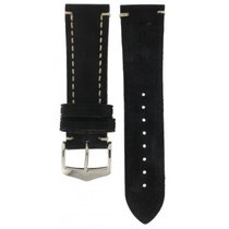 Hublot Hirsch Liberty Black Thick Calf Strap 24mm