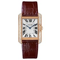 Cartier Tank Anglaise Automatic Mens Watch Ref WT100029