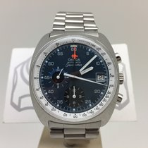 Omega Seamaster Chronograph Vintage 176007 Blue Dial