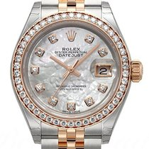 Rolex Lady Datejust Mother of Pearl Dial with diamonds