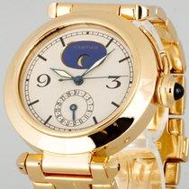 Cartier Pasha Mondphase Quarz 18kt Gelbgold Ref.30001