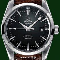 Omega Seamaster Aqua Terra CoAxial Black Dial Box&Papers