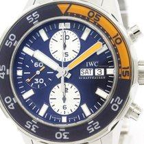 IWC Polished Iwc Aqua Timer Chronograph Automatic Watch...