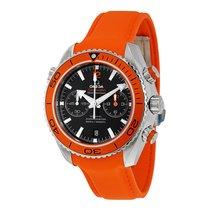 Omega Planet Ocean Chronograph Orange Rubber Strap Mens Watch...