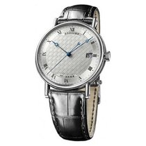 Breguet Classique Automatic in White Gold - on Black Strap