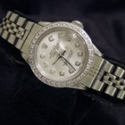 Rolex Datejust Date Stainless Steel Watch Diamond Dial/bzl 6916