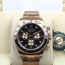 勞力士 (Rolex) 18K Everose Pink Gold Cosmograph Daytona Black...