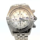 Breitling Evolution 43mm Stainless Steel Silver Stick Dial