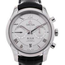 Omega De Ville Co-Axial Chronograph 42 Silver