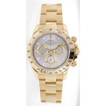 Rolex Daytona 116528 18K Yellow Gold With Factory Silver Dial...