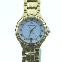 Maurice Lacroix Calypso Damen Uhr Vergoldet 25mm Mit Stahl Band