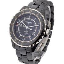 Chanel J12 Black GMT Large Size H2012